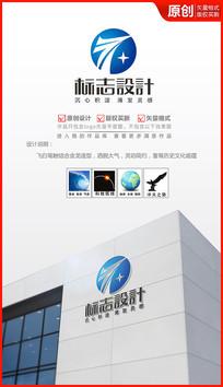 飞跃科技logo设计 AI
