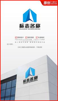 科技箭头logo设计
