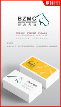 骏马科技logo设计商标设计