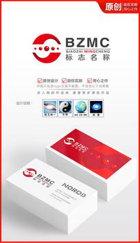 科技未来logo设计商标设计