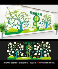 清晰风幼儿园文化墙照片墙