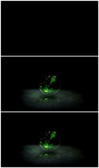 能量球演绎LOGOAE视频模板