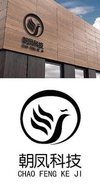 朝凤科技网络公司logo