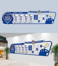 公安局警营文化墙