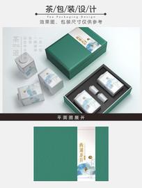 简约素雅茶包装设计