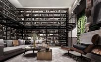 现代混搭风格的儒雅客厅