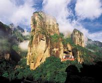 雁荡山自然风景高山景观