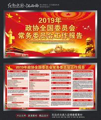 2019红色政协委员会展板