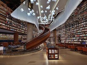 高大上书店设计