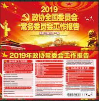红色政协全国委员会报告展板