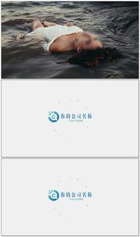 简洁干净logo视频