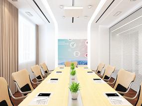 现代时尚会议室3D模型