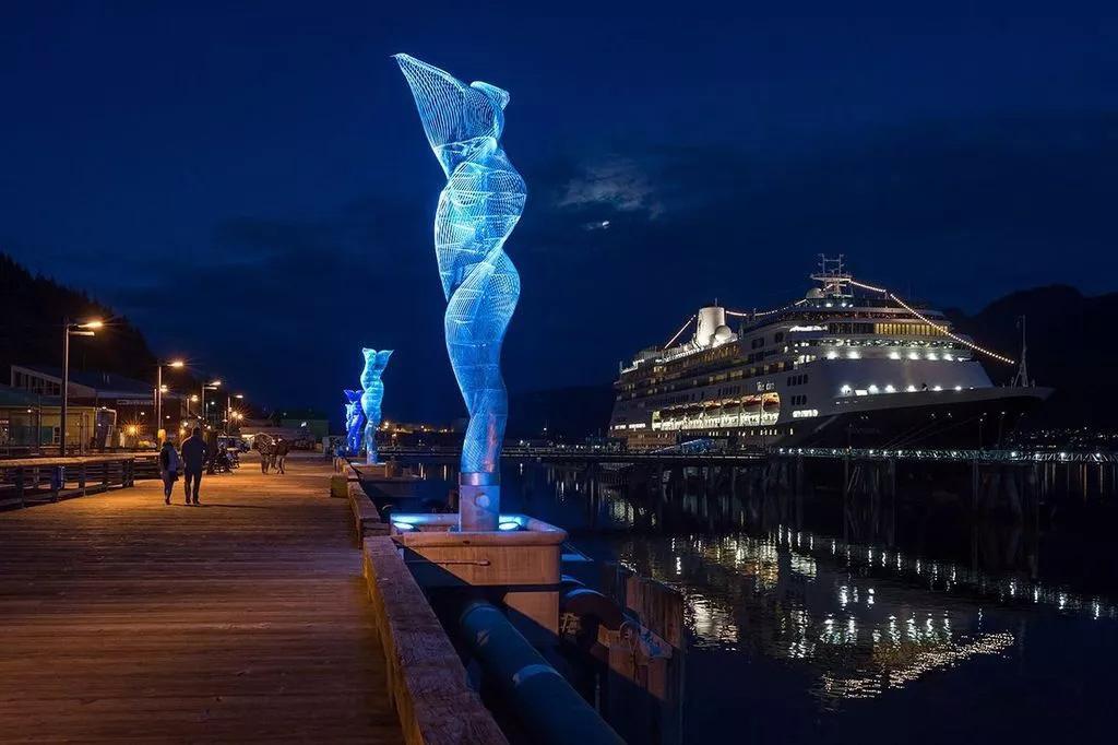 现代景观雕塑装置艺术赏析