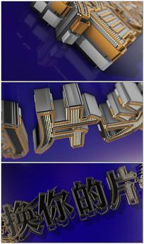 3dlogo标志ae片头AE视频模板