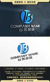 B字母标志商标LOGO设计