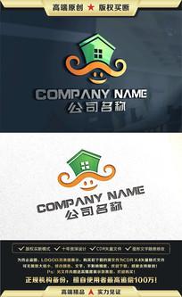 房产中介物业标志LOGO设计
