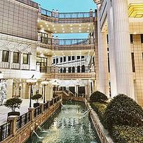 豪华酒店建筑景观