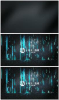 科技片头logo穿梭AE视频模板