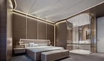 轻奢简约宾馆室内设计