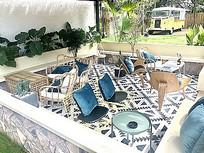 休闲度假居家现代简约桌椅