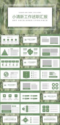 绿色工作述职报告PPT