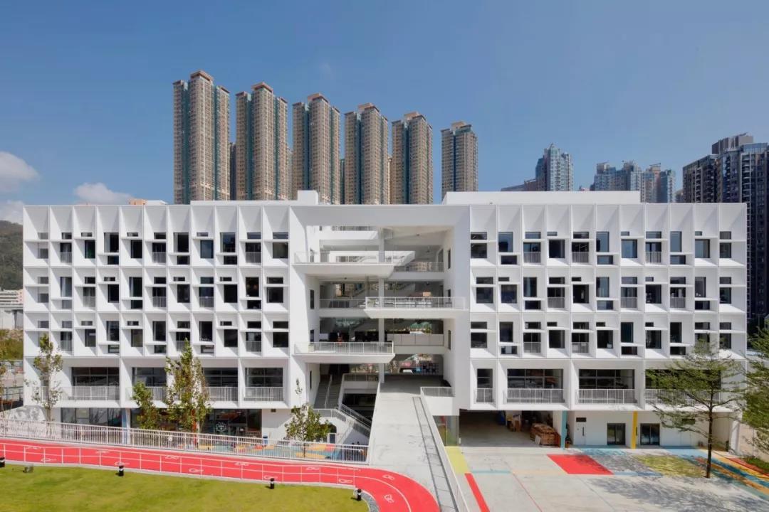 香港法语图纸学校/HenningLarsenArchitects上箭头往一个有国际一横下图片
