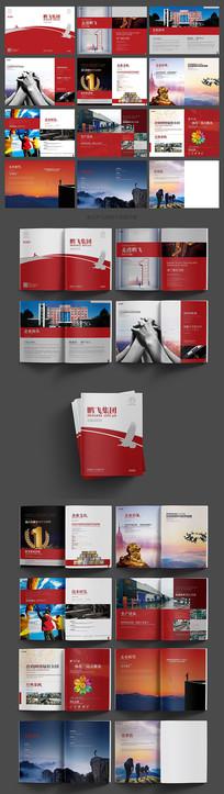 大气红色产品画册设计
