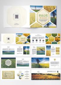 现代农业宣传画册设计