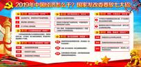 2019中国经济发展宣传栏