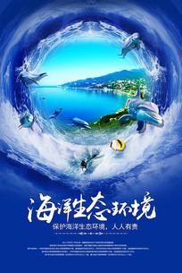 海洋生态环境海报