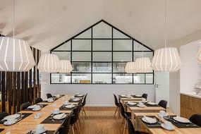 旅社北欧餐厅设计