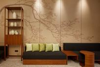 中式休闲沙发