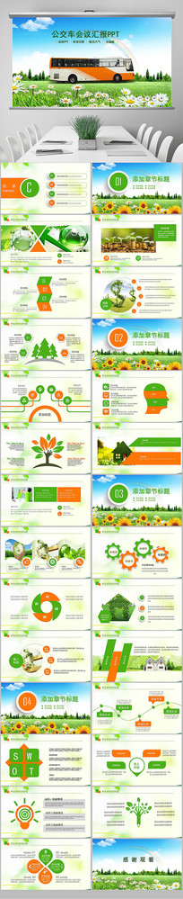 城市公交系统发展规划PPT