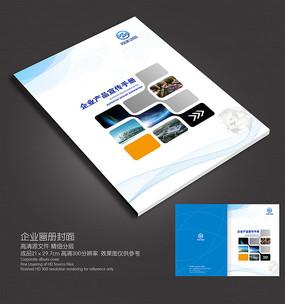 科技企业高档封面