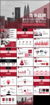 品牌分析报告PPT模板