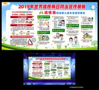 2019世界结核病日宣传展板