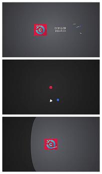 简洁logo片头视频模板