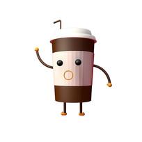 原创C4D卡通咖啡杯素材