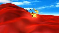 中国范儿舞台背景视频素材
