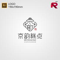 中式糕点LOGO AI