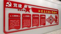 红色党建文化墙