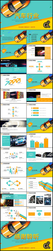 汽车维修保养行业PPT