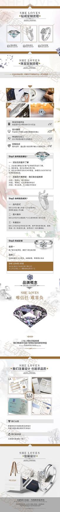 珠宝详情页设计