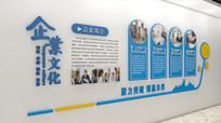 大气企业发展历程文化墙