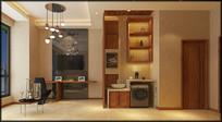 公寓酒店室内MAX模型