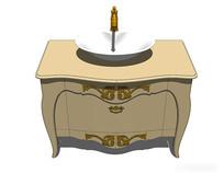 欧式复古洗手台