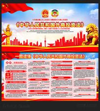 中华人民共和国外商投资法展板