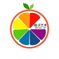 桔子艺术logo设计