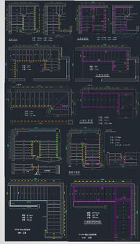 楼梯设计CAD