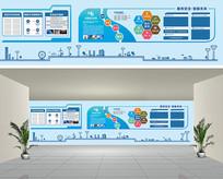 南方电网企业文化墙